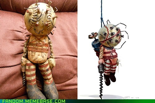 big daddy big daddy doll bioshock Fan Art little sister