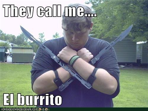 beans,burrito,fat jokes,guacamole,mexican food,weird kid