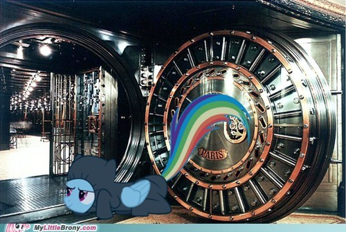 bank heist book daring do meme paris rainbow dash - 5795267328