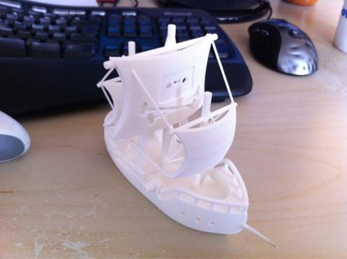 3D printing Nerd News physibles pirate bay pirate ship Tech - 5795378432