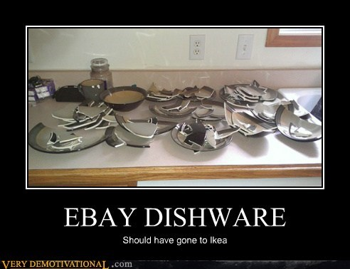 dishes ebay hilarious ikea uh oh - 5795636480