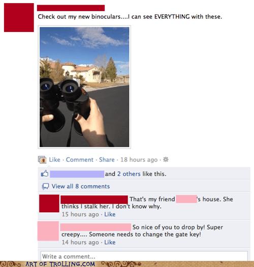 binoculars creepy facebook stalking - 5795673088