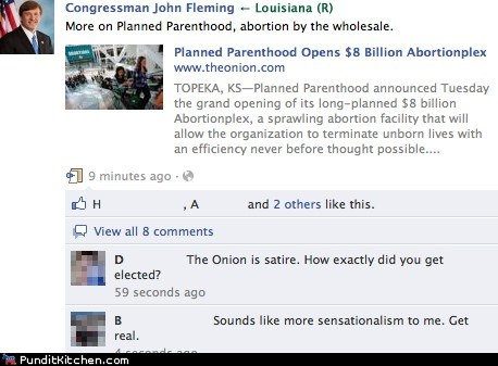Congress john fleming Louisiana Planned Parenthood political pictures - 5795909888