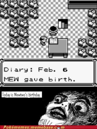 best of week,birthday,comic,feb-6,gameboy,mew,mewtwo