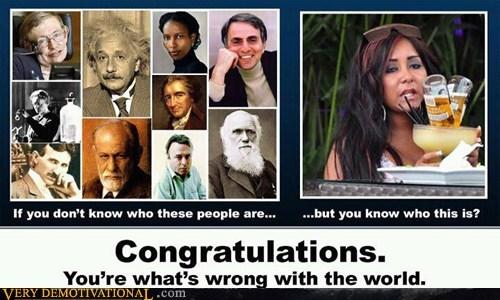 albert einstein congratulations Sad world wrong - 5796028160