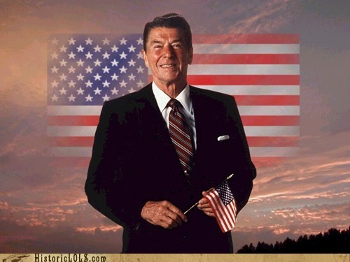 color Photo president Ronald Reagan This Day In History - 5796144384