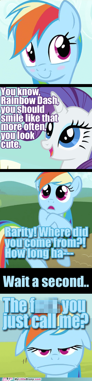 comic comics cute rainbow dash rarity - 5796147456
