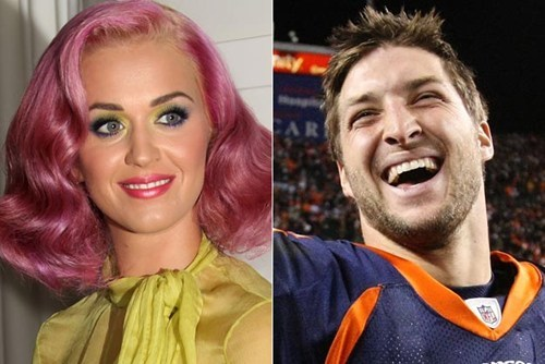 celeb,katy perry,super bowl,tim tebow