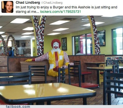 creepy pic Ronald McDonald - 5796300032