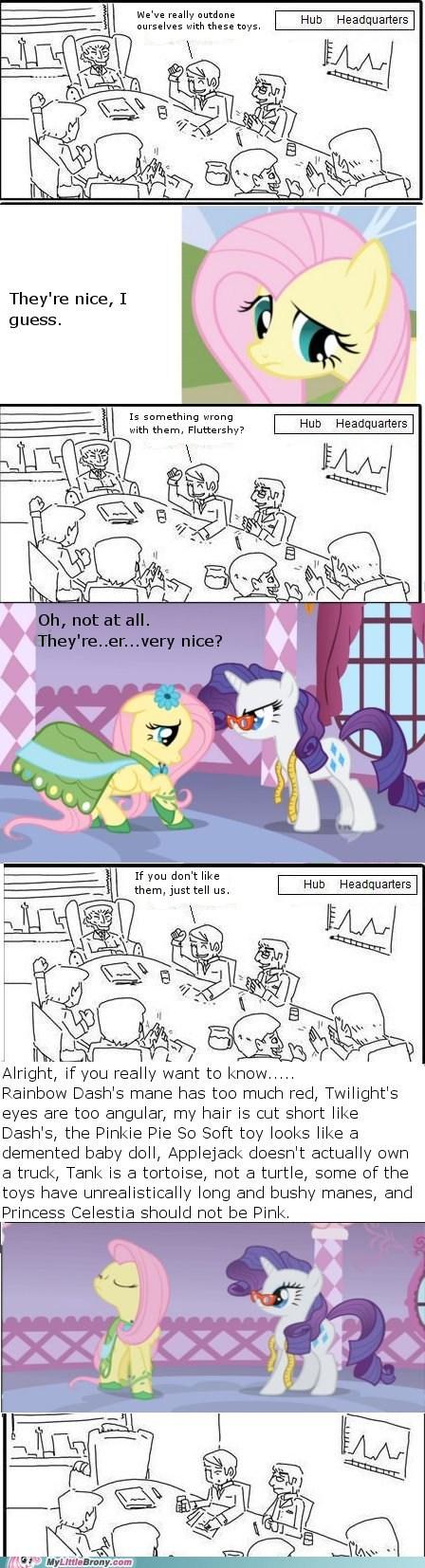 comic decisions fluttershy meme the hub - 5796528128