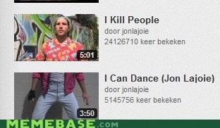 i can dance,jon lajoie,people,Text Stuffs,thumbnails
