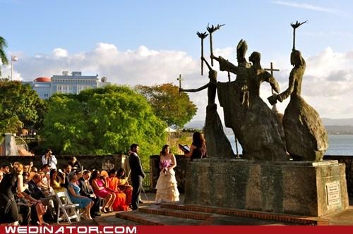 bride funny wedding photos groom puerto rico - 5796743168