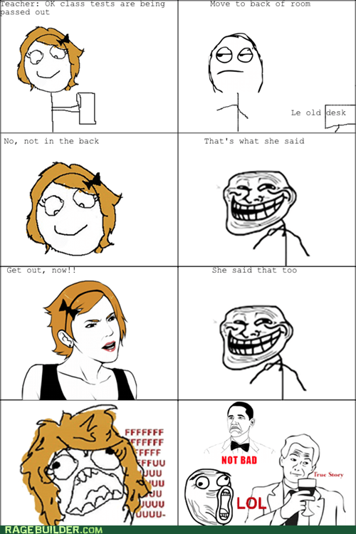 fu gal Rage Comics that sounds naughty troll truancy story - 5796856320