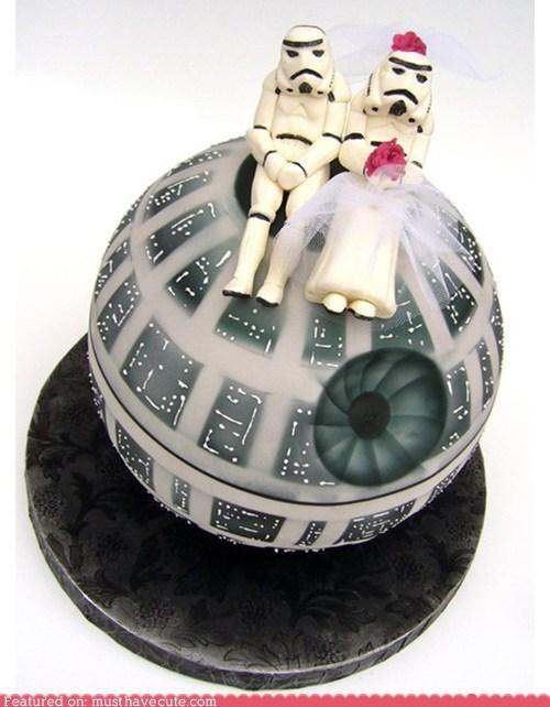 cake Death Star epicute star wars stromtroopers wedding - 5797037056