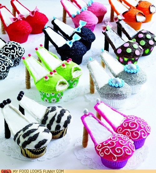 cupcakes,foolish,heels,Johnny Depp,shoes,stereotypes,women