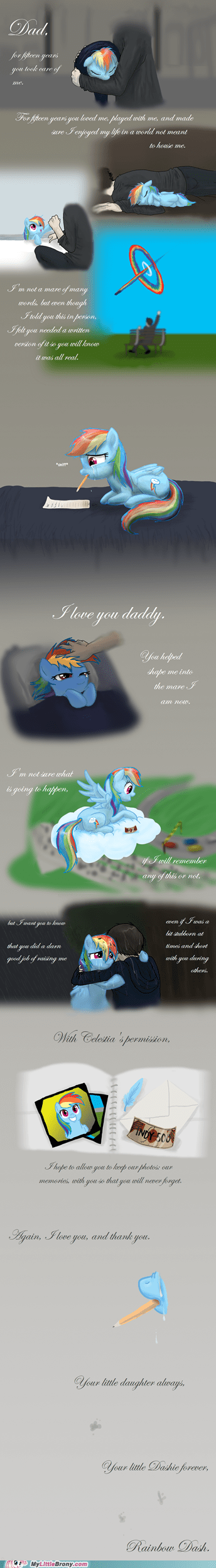 best of week comics fanfic my little dashie rainbow dash Sad tears - 5797083904