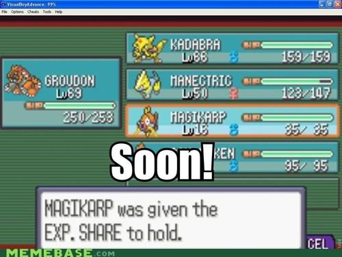 exp share magikarp Memes SOON splash - 5797115392
