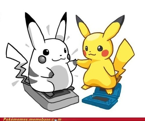 art ds gameboy handhelds nostalgia pikachu Pokémon - 5797184512