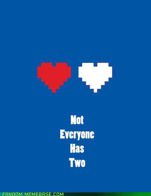 Fan Art heart Valentines day video games - 5797226752