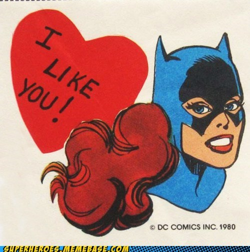 bat girl friend zone Random Heroics Valentines day - 5797545984