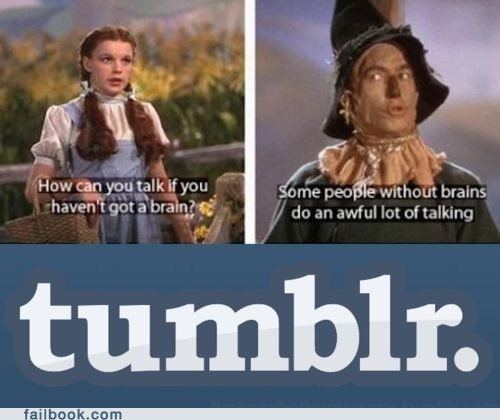 brain tumblr wizard of oz