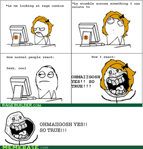 forever alone Rage Comics true - 5797686016