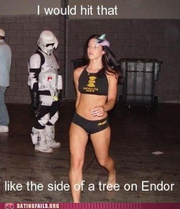endor,star wars,Staring,stormtrooper