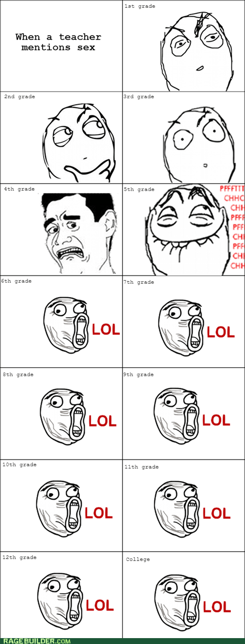 best of week lol Rage Comics sexytimes truancy story - 5797877760