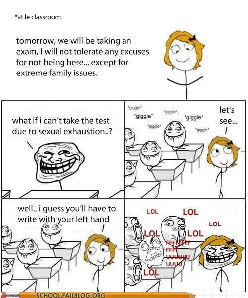 ambidextrous burn fapping gotcha rage comic teacher - 5797950464