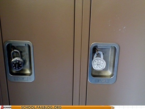 combo,fake,locker,padlock,paper,seems legit