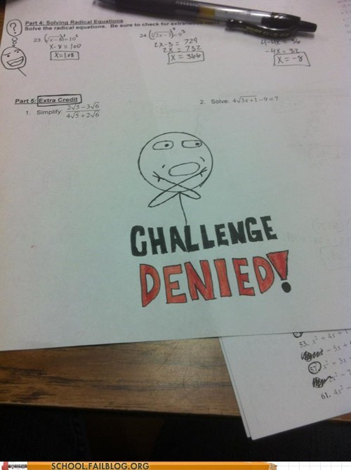 challenge denied do not want doodle drawing worksheet - 5797954048