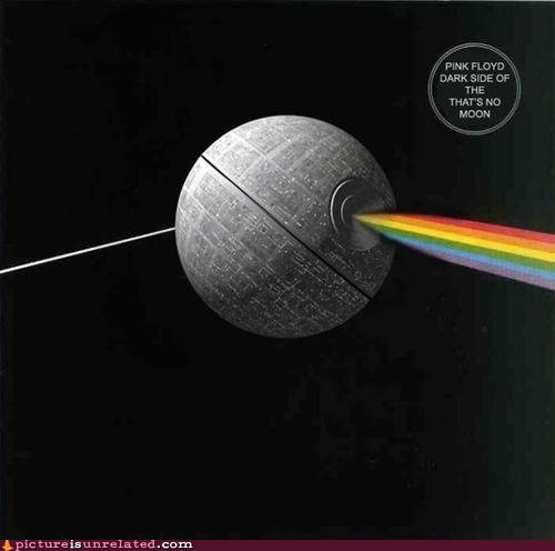 best of week Dark Side of the Moon Death Star pink floyd wtf - 5798237952