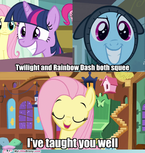 comics fluttershy rainbow dash squee twilight sparkle - 5798326528