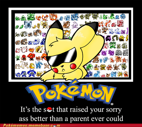 childhood gameboy Memes parents pikachu Pokémon - 5798859008