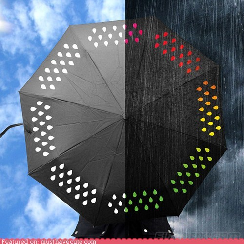 best of the week color rain raindrops umbrella