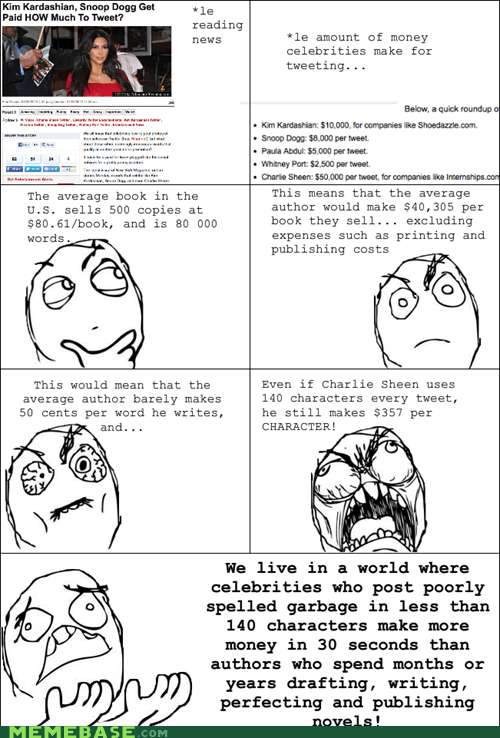 authors best of week celeb Rage Comics twitter - 5799275264