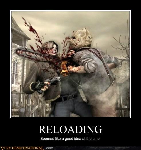 hilarious reloading resident evil wtf - 5799332096