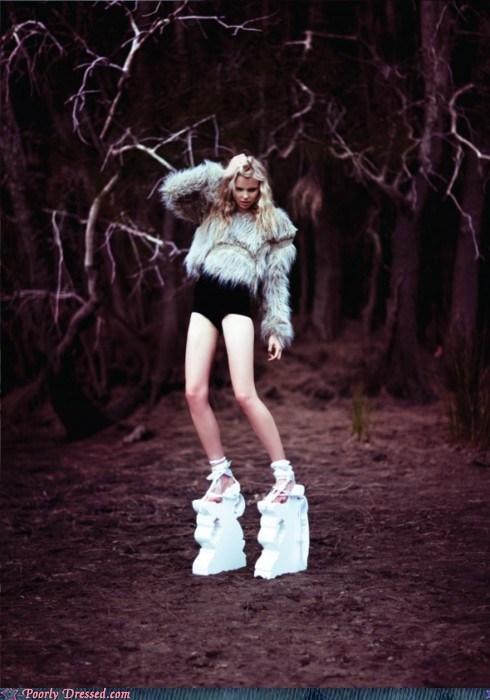 heels platform shoes shoes - 5799450624