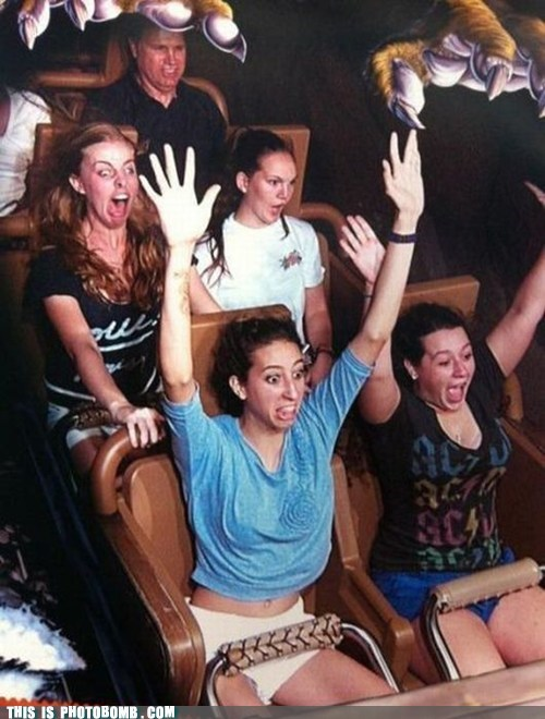 cant-handle-it derp Good Times roller coaster scary - 5799812352