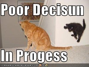black decisions jumping kitten leaping lolcats lolkittehs orange stairs - 579987200