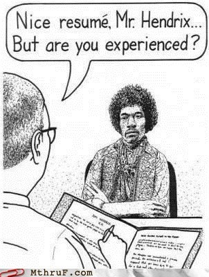 are you experience Hall of Fame jimi hendrix nice resume - 5800527872