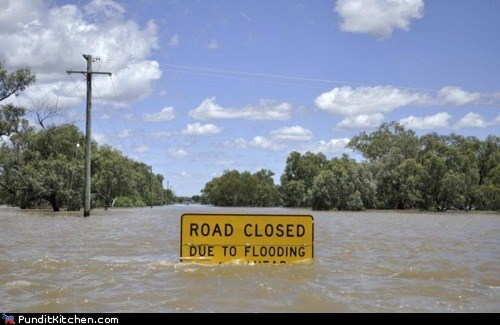 flood political pictures sign - 5800535808