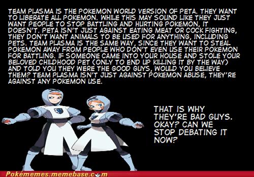 bad guys Memes peta pokemon world taking it too far team plasma - 5800566528