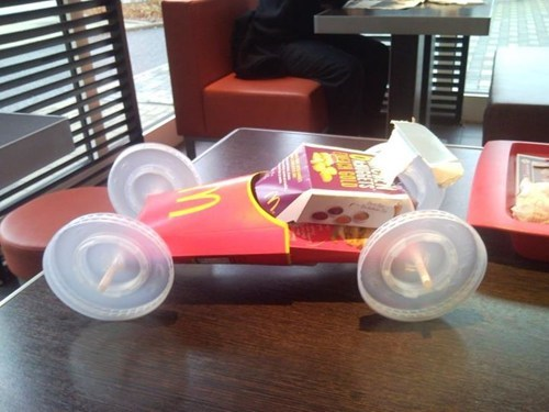 dual use,fast food,McDonald's