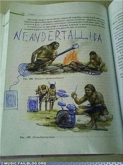 classic rock metallica neanderthals - 5800900608