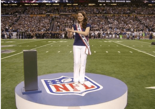 All Kinds Of Wrong Miss Deaf America Rachel Mazique super bowl - 5800956672