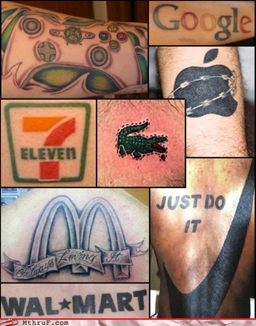 corporate logos,logos,Ugliest Tattoos