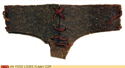 Beef DIY jerky meat panties underwear Valentines day - 5801224960
