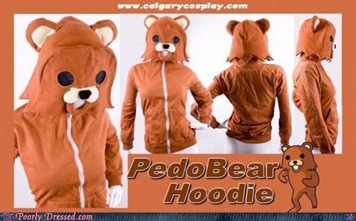 hoodie pedobear sweatshirt - 5801244672