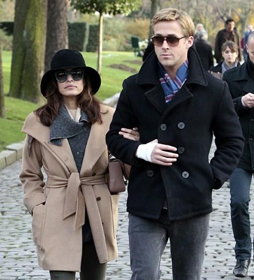 celeb,eva mendes,Ryan Gosling